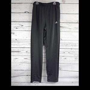 Mens Adidas Sz L Woven Pant Gray Climalite